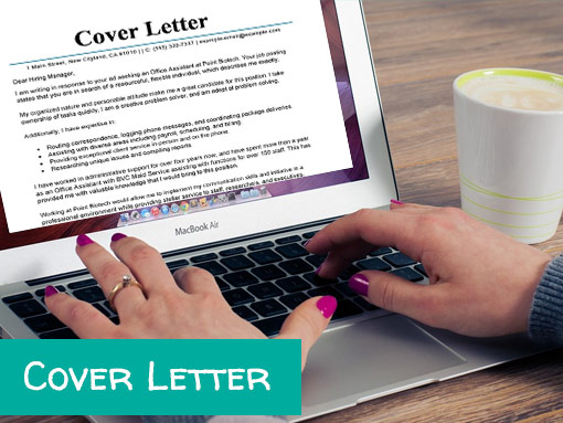 Elegant Cover Letter Writing Service