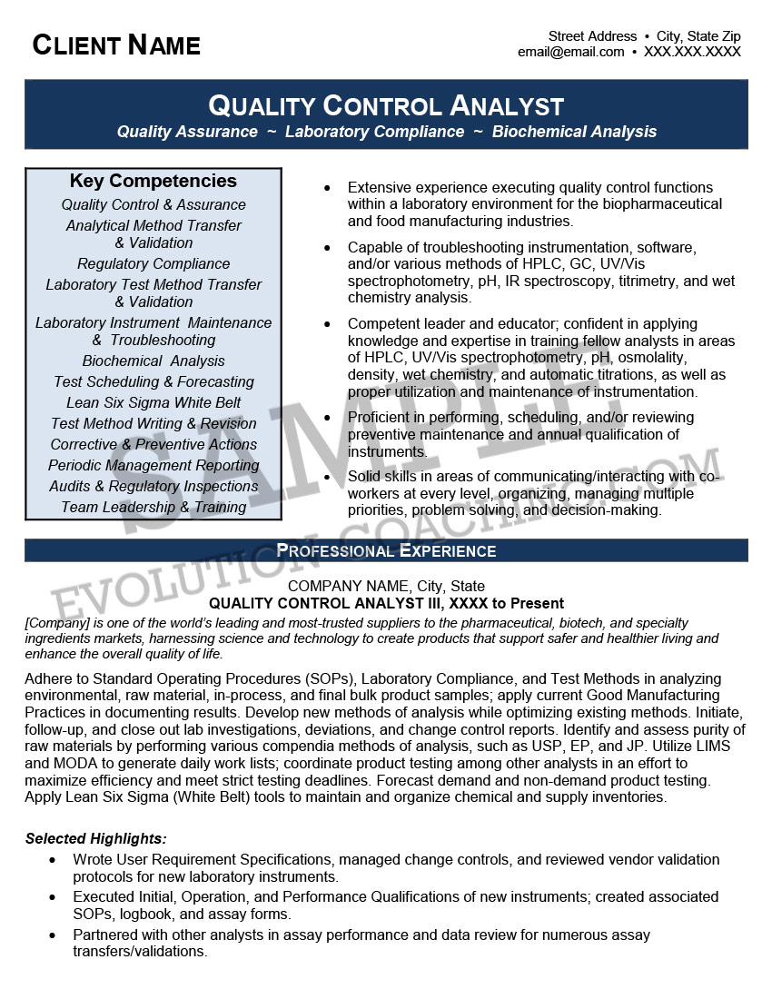 Resume Sample 4 1  Professional Resume Writing