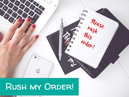 Rush Order - Get it in 2 business days!
